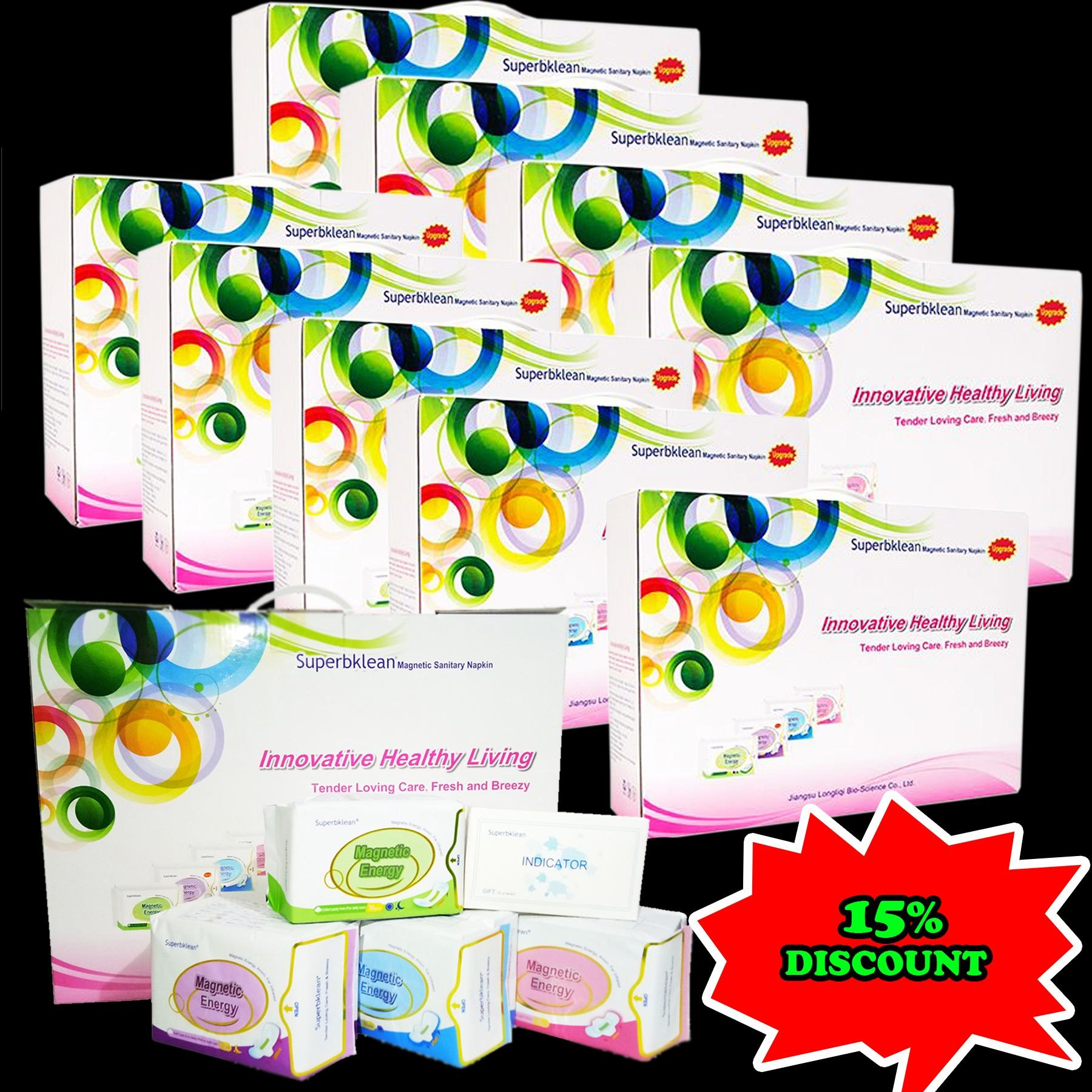 Buy Sell Cheapest Superbklean Magnetic Energy Best Quality Product Superbclean Longrich 10 Box Assorted Napkins
