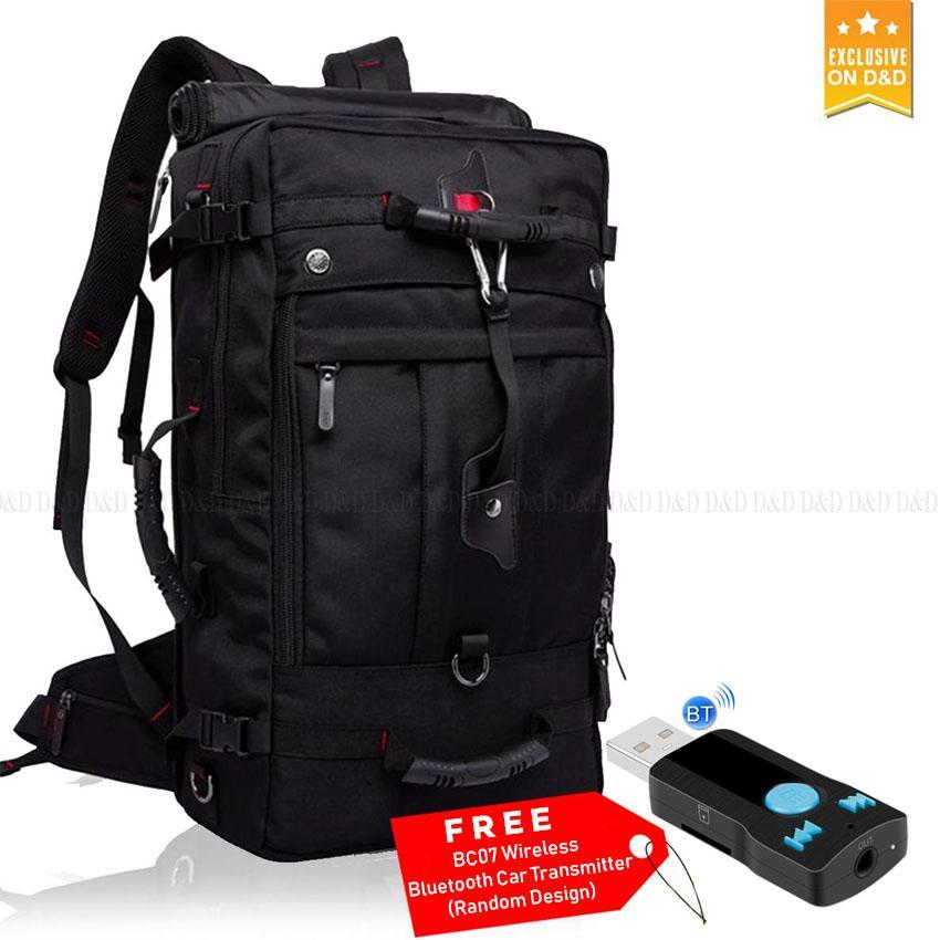 9c44d0619aec KAKA Men Backpack Travel Bag Large Capacity 40L Versatile Utility  Mountaineering Multifunctional Waterproof Backpack Luggage Bag