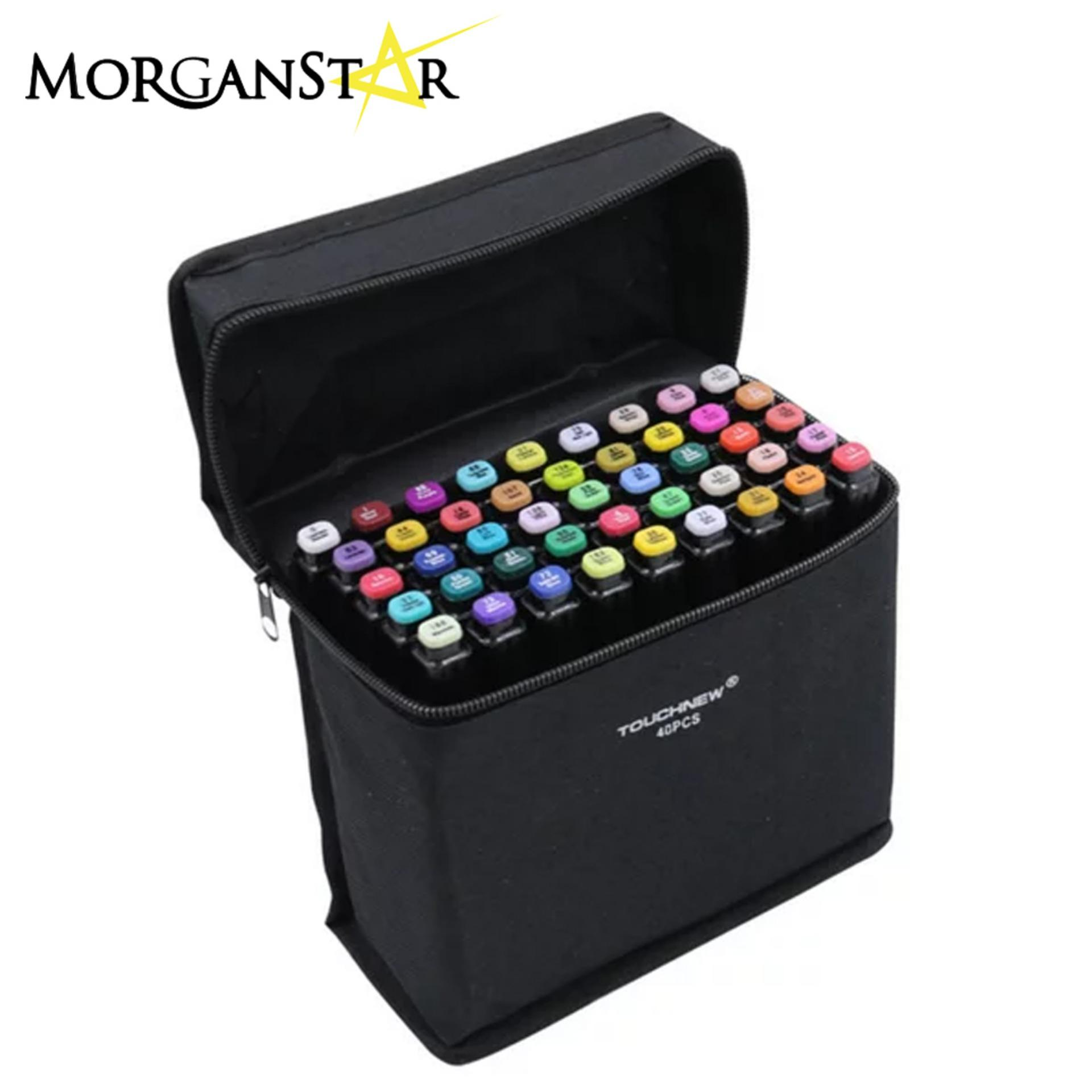 Touchfive / Touch Five Colors Graphic Art Twin Marker Point Tip Pen 36 Colors (black) By Morganstar Marketing.