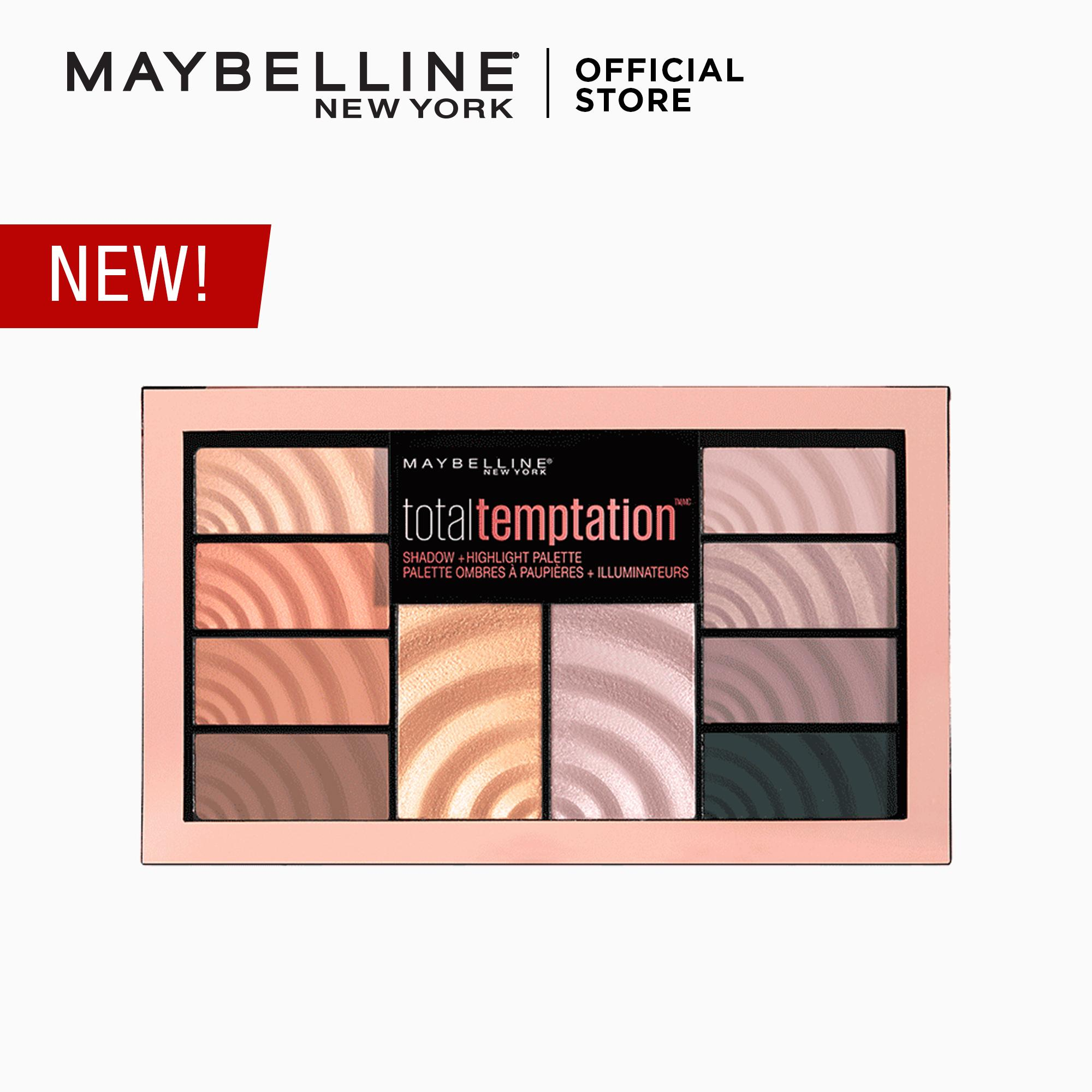 Total Temptation Eye & Cheek Palette by Maybelline Philippines