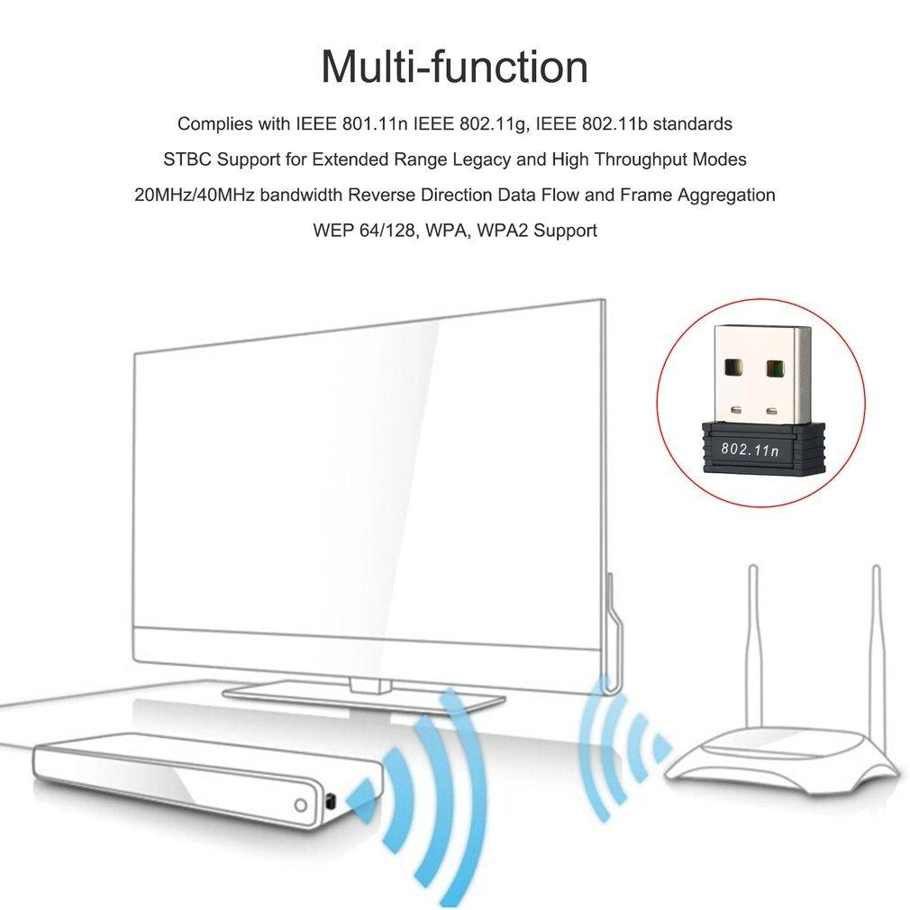 Buy Sell Cheapest Lan Yu B Best Quality Product Deals Usb Wifi Antenna 80211n Wireless Adapter Dongle 150 M 150mbps 150m Mini Network Card G