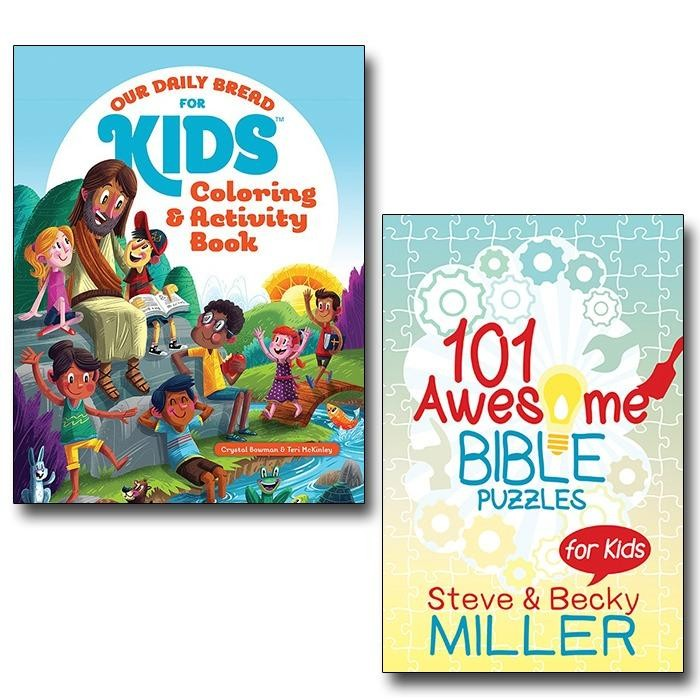 Our Daily Bread For Kids 101 Awesome Bible Puzzles Bundle