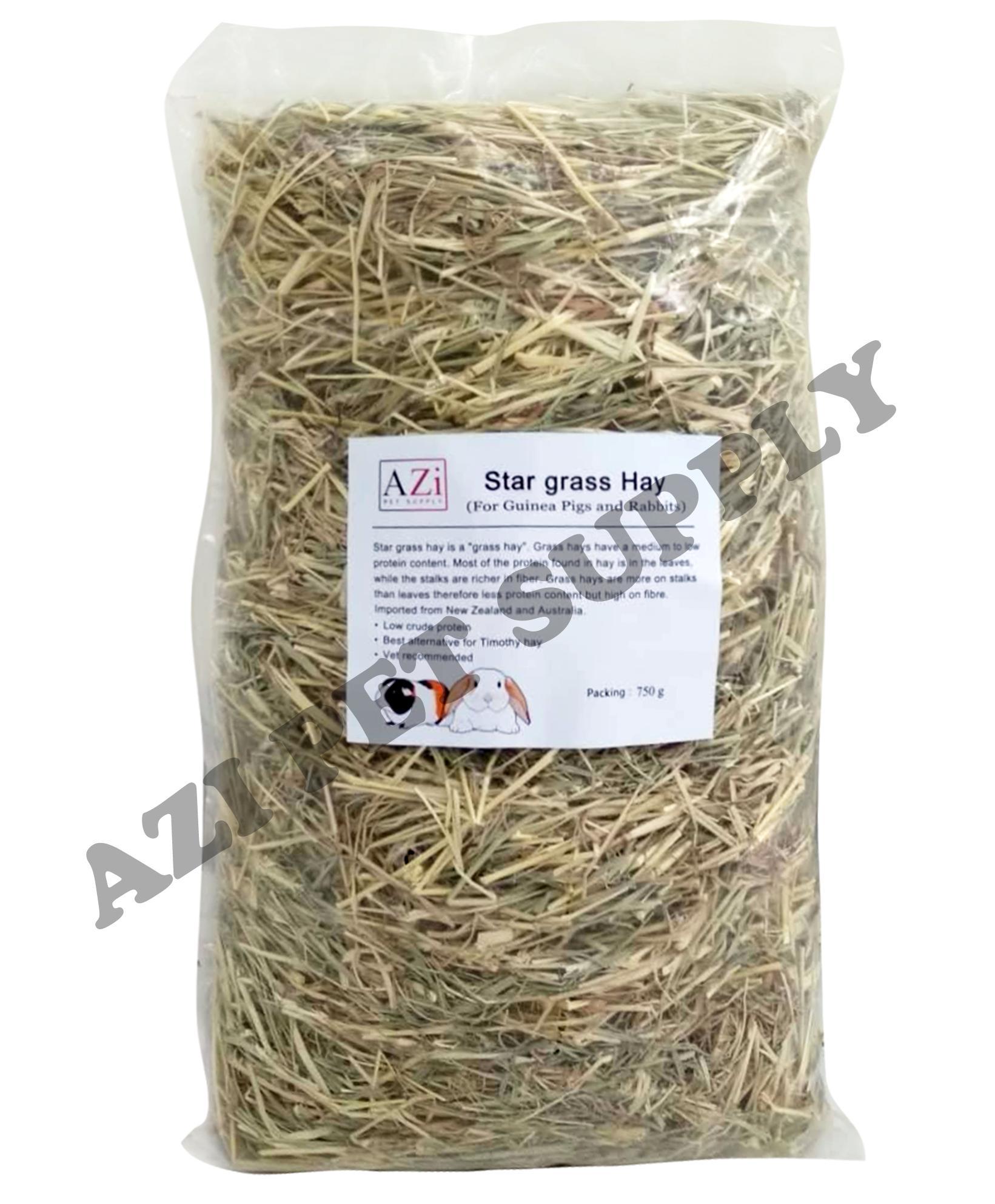 Azi Star Grass Hay 750g By Az Online.