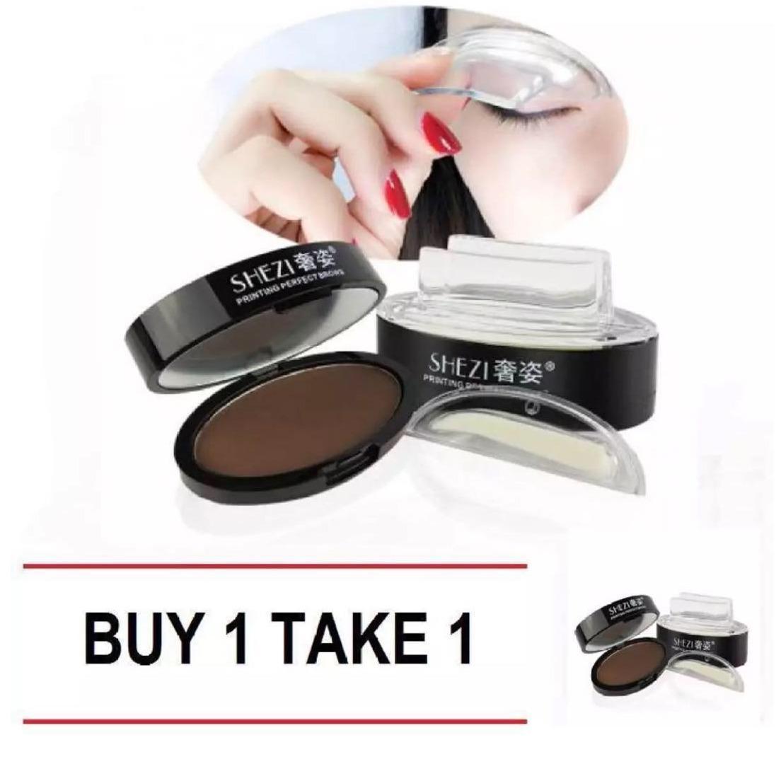 Buy 1 Take 1 Shezi Eyebrow Stamp (#3 Light Brown) Philippines