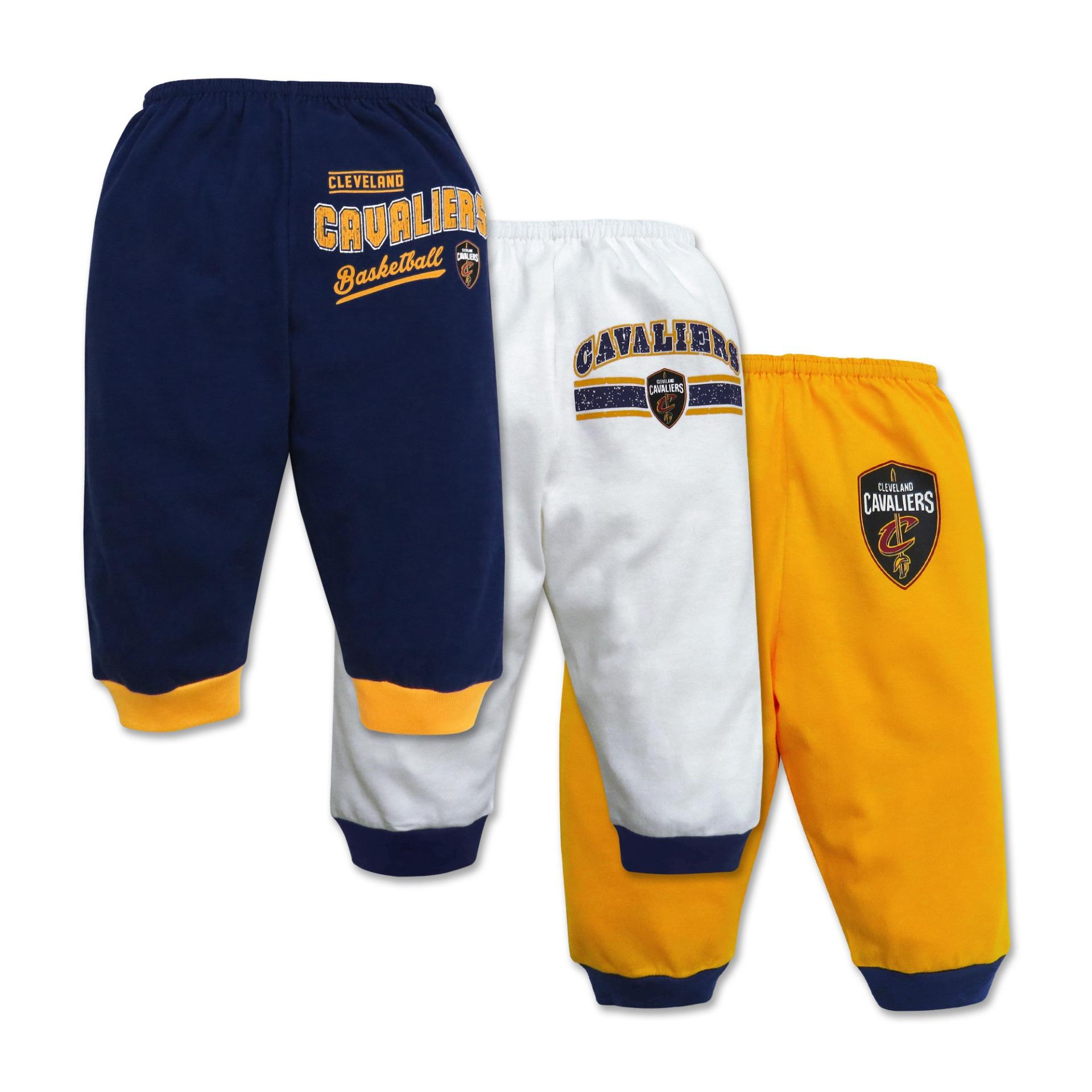 NBA Baby 3 piece Pajama Pants Vintage Collection Cavaliers