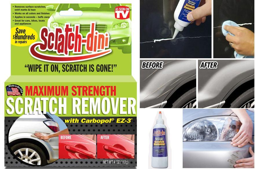 Scratch Dini Car Scratch Remover Great For Automobiles Motorcycles Bikes Boats And Appliances By All In Merchandise.
