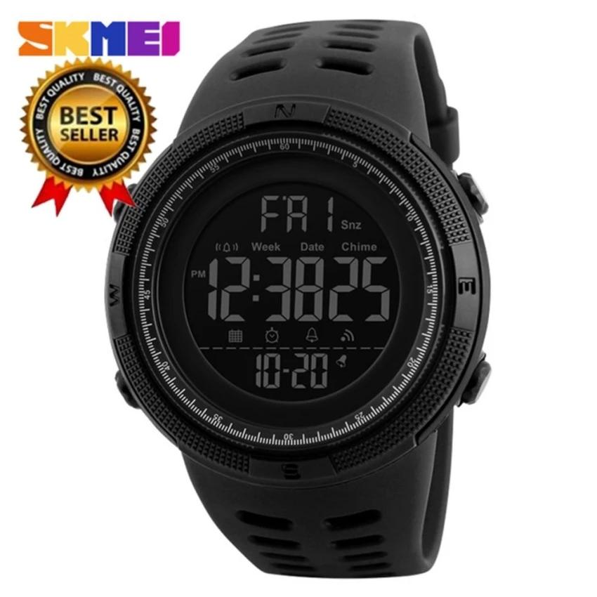 100% Genuine New SKMEI Men s Sports Watch Chronograph Alarm Clock Digital  Watch 50M efb1727ae2