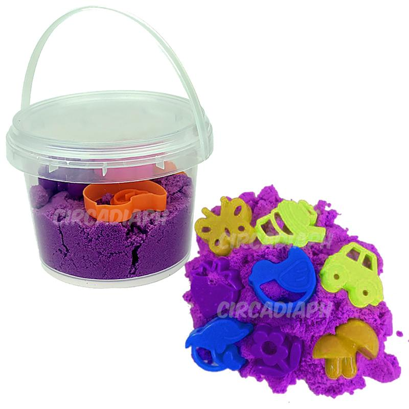 300grams Kinetic Motion Sand With Molds By Circadia Ph.