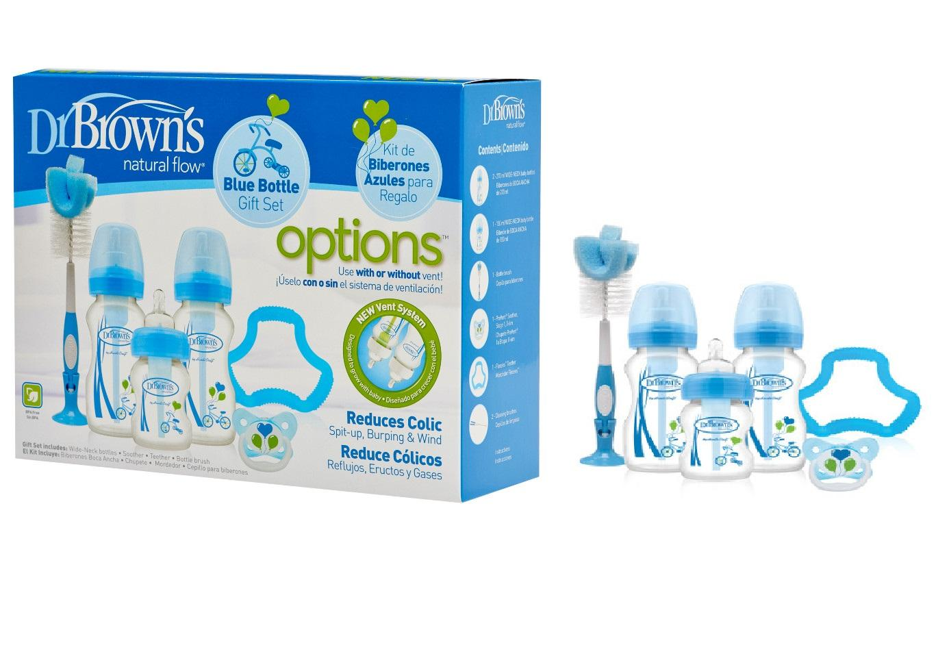 Baby Bottles For Sale Feeding Online Brands Prices Wide Neck Options Bottle Soother Gift Set Blue Pink Dr Browns