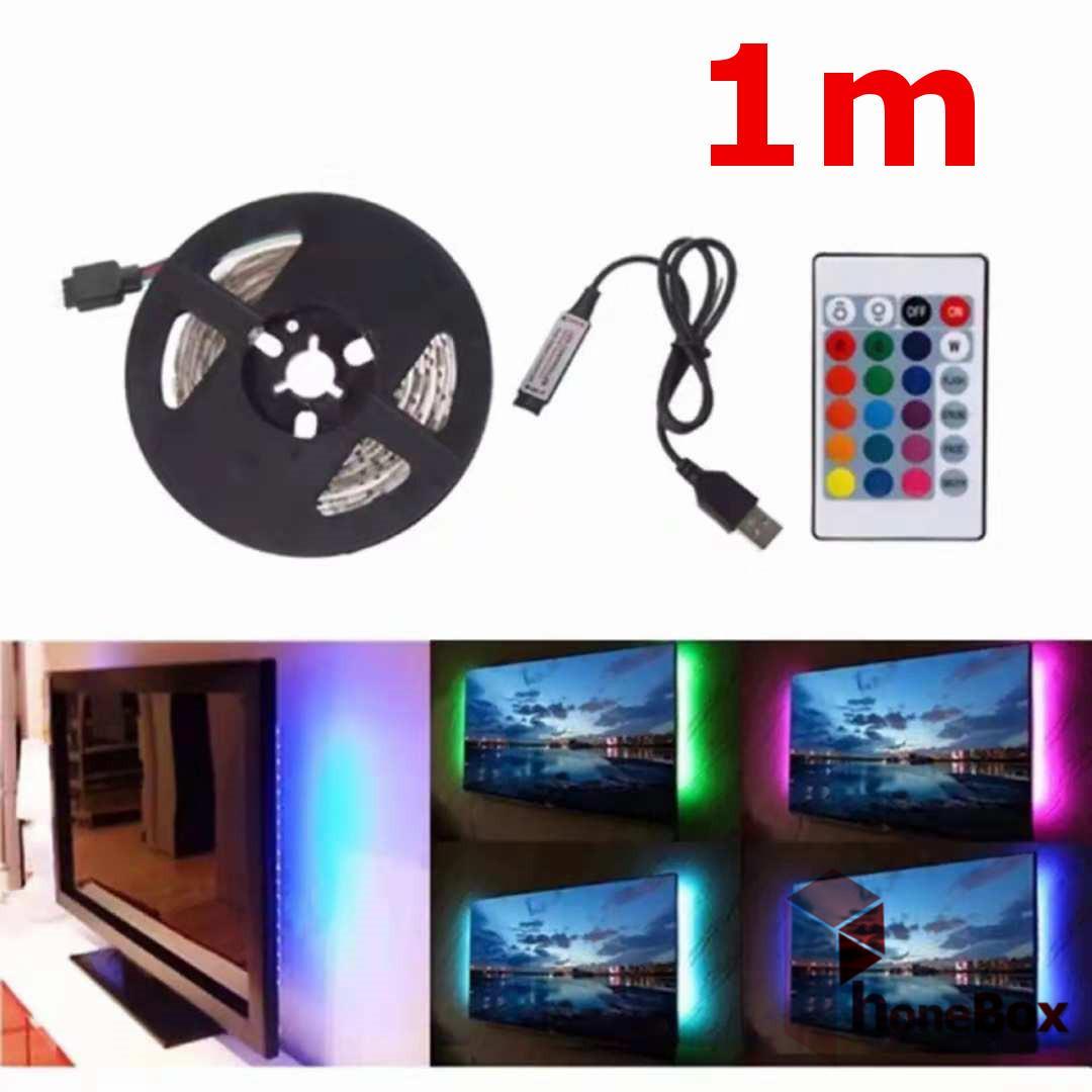1m L10 5V USB 5050 Led strip light led light RGB 15led Flexible Ribbon Epistar SMD