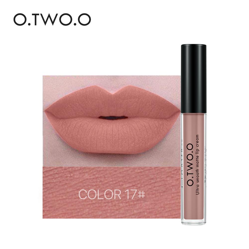 O.TWO.O 12colors Matte Liquid Lipgloss Long Lasting Waterproof Kissproof Make up Philippines