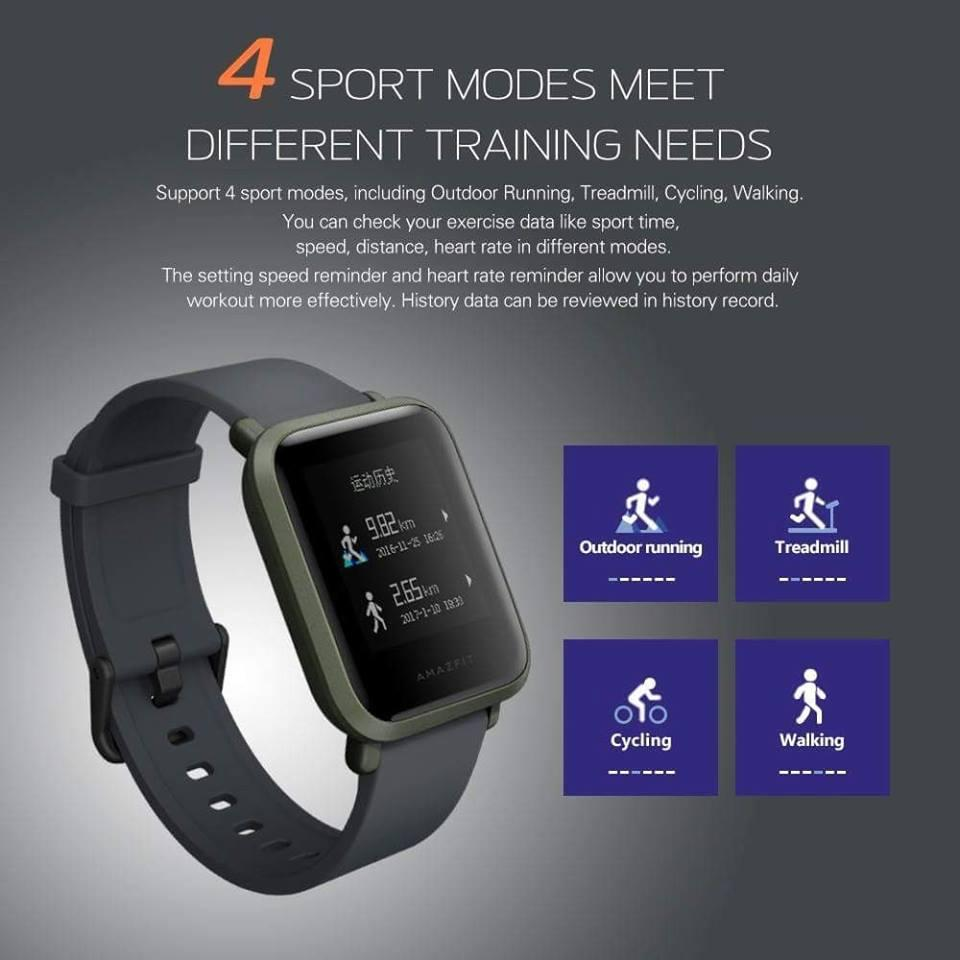 Buy Sell Cheapest Qearl Shop Huami Best Quality Product Deals Xiaomi Amazfit Pace 2 Stratos Cover Bumper Case Shell Frame Protector Bip Smartwatch By With All Day Heart Rate And Activity Tracking