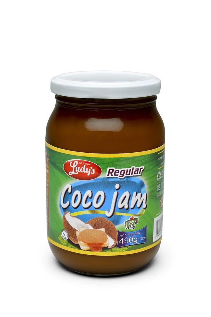 Ludy's Coco Jam Regular 490gms Bottle By Rodzon Marketing Corp..