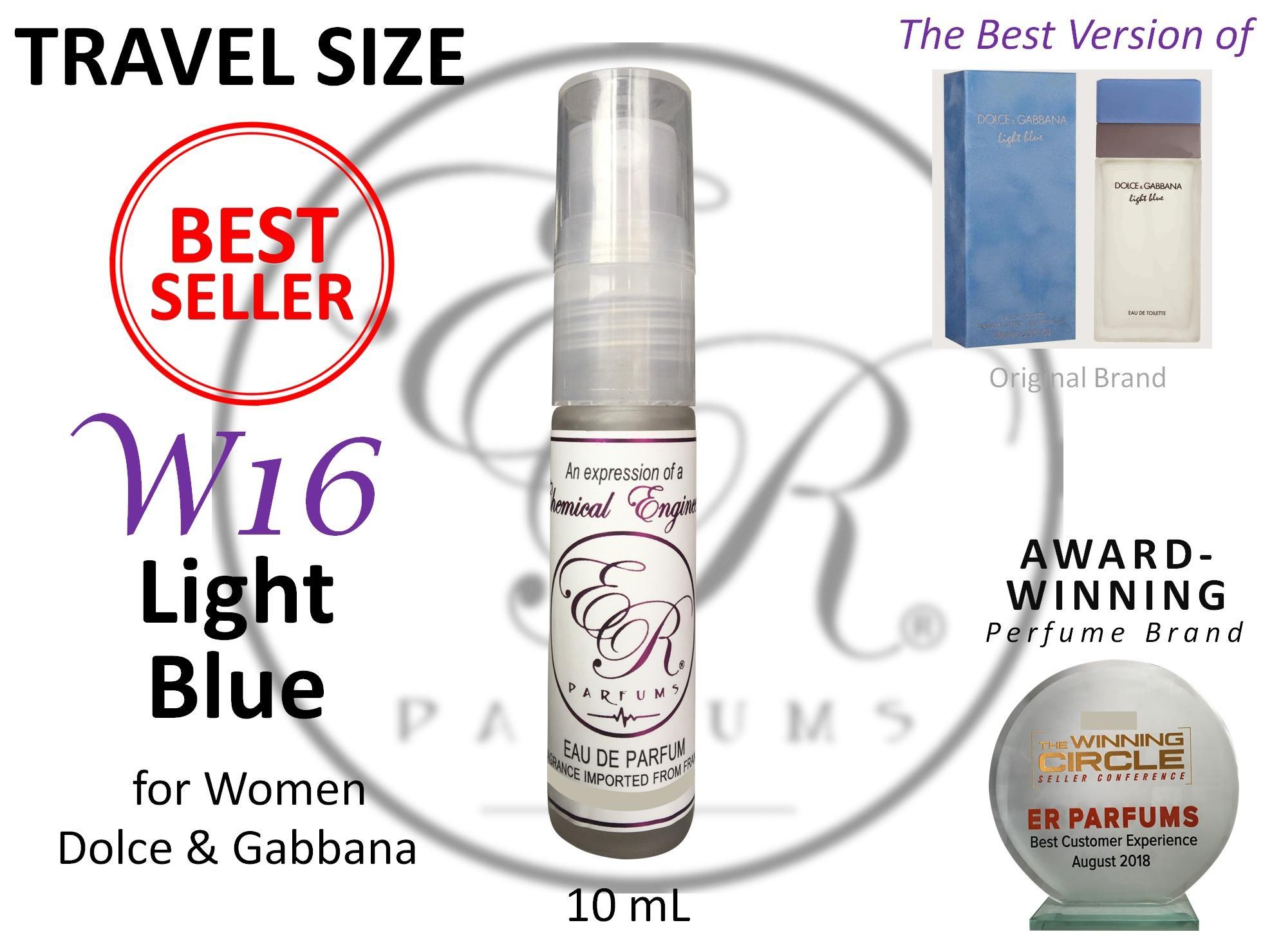e34a9b9c9bd2 ER PARFUMS W16 Light Blue for Women by Dolce   Gabbana 1 piece 10 ml TRAVEL
