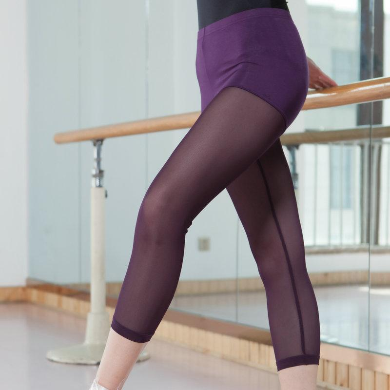 Product Ultra-Stretch Tight Modal Gymnastics Ballet Dance Gymnastic Gauze Legguard Patyhose Cropped Leggings By Taobao Collection.