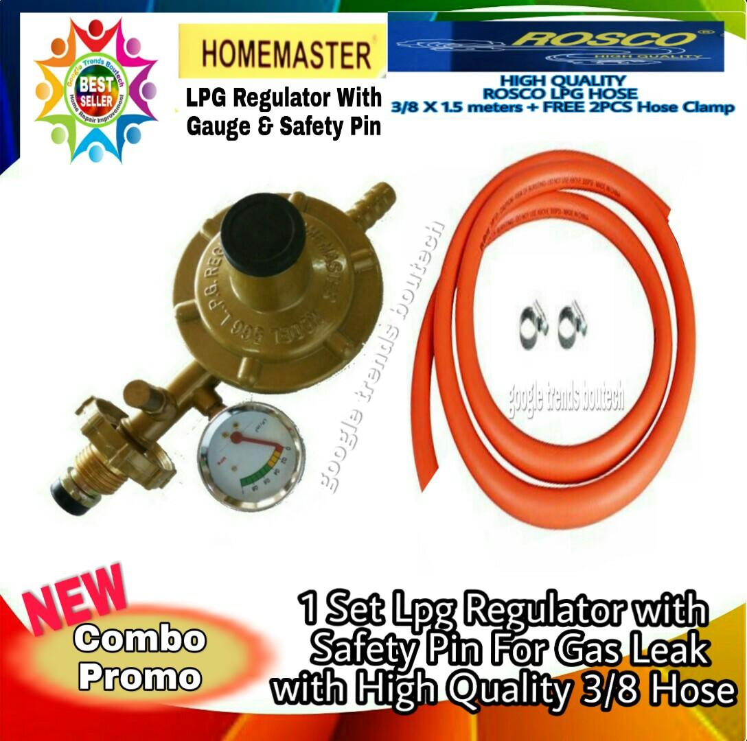 Lpg Regulator For Sale Gas Prices Brands Review In Pressure Cutting Machine Circuit Control View 1set With Gauge Safety Pin Leak Heavy Duty 3