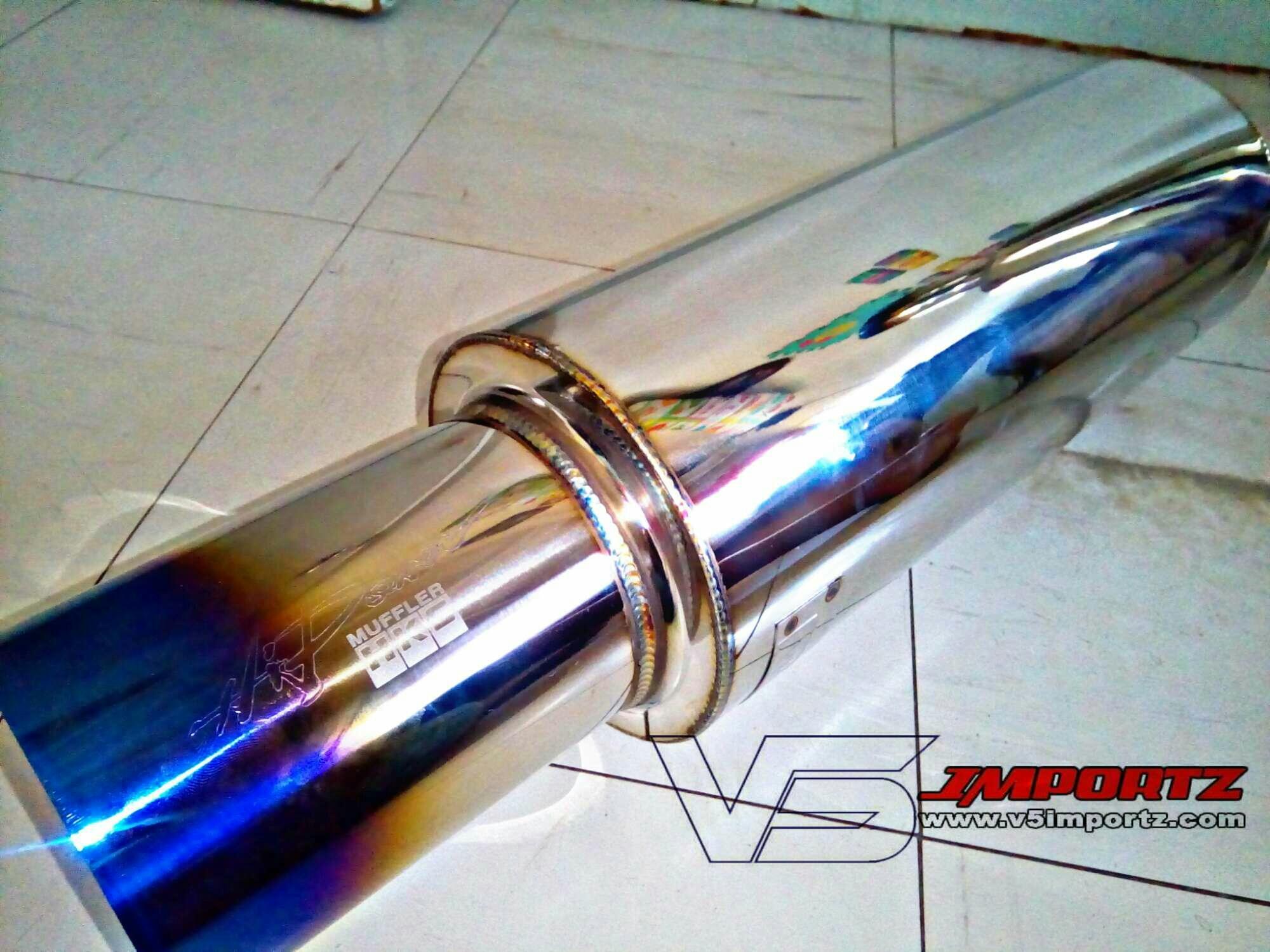 Exhaust System For Sale Car Online Brands Prices Muffler Knalpot Js Racing Hks Medium Can Free Flow Burned Tip V5importz