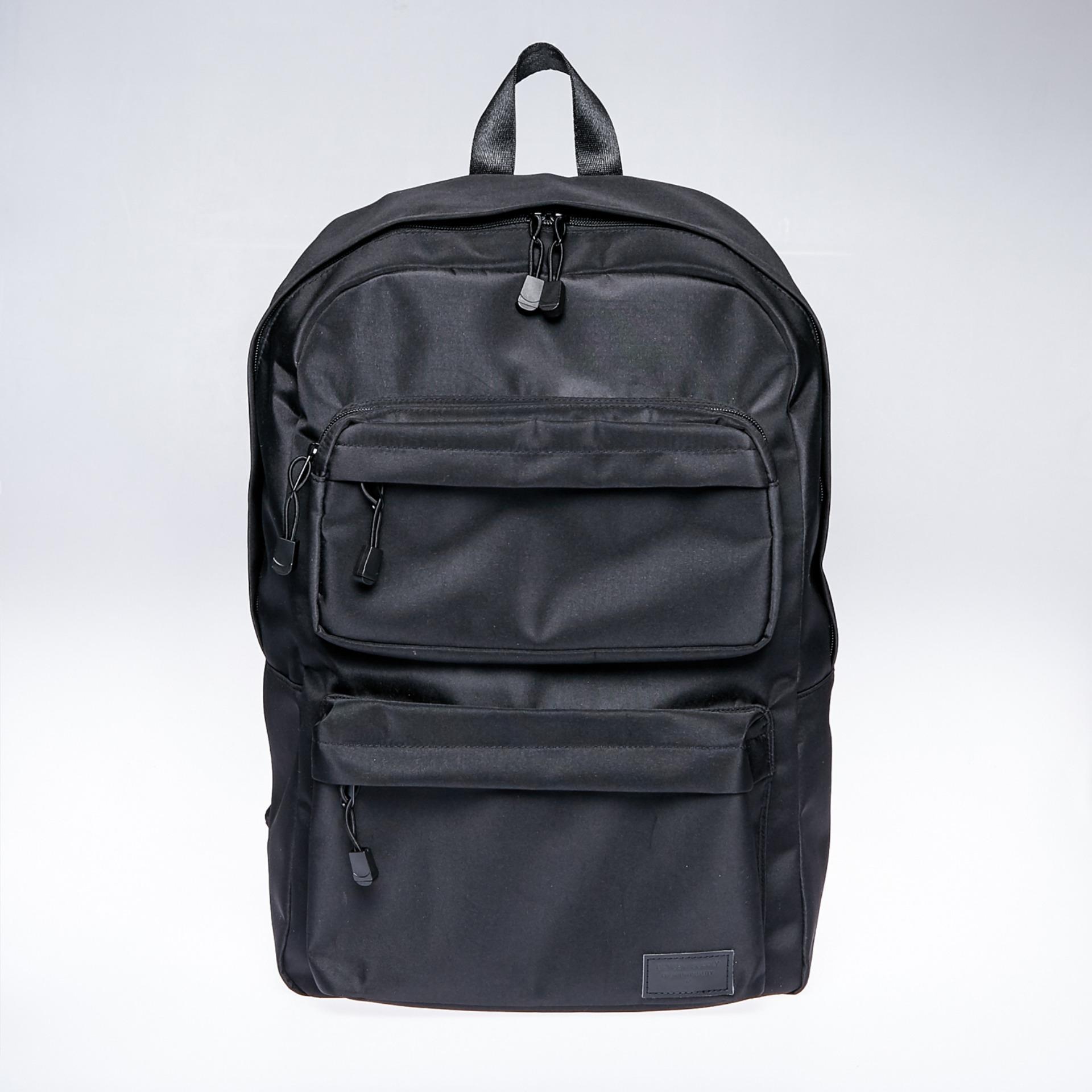Backpack With Multiple Pockets Black