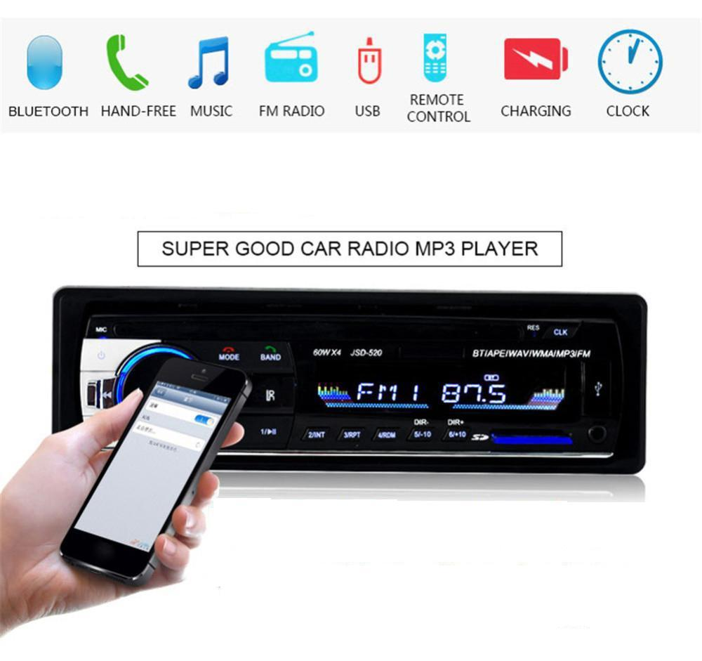 Car Stereo For Sale Cars Online Brands Prices Sansui Wiring Harness Stereosingle Din In Dash Bluetooth Audio Receiver With Usb Sd Aux