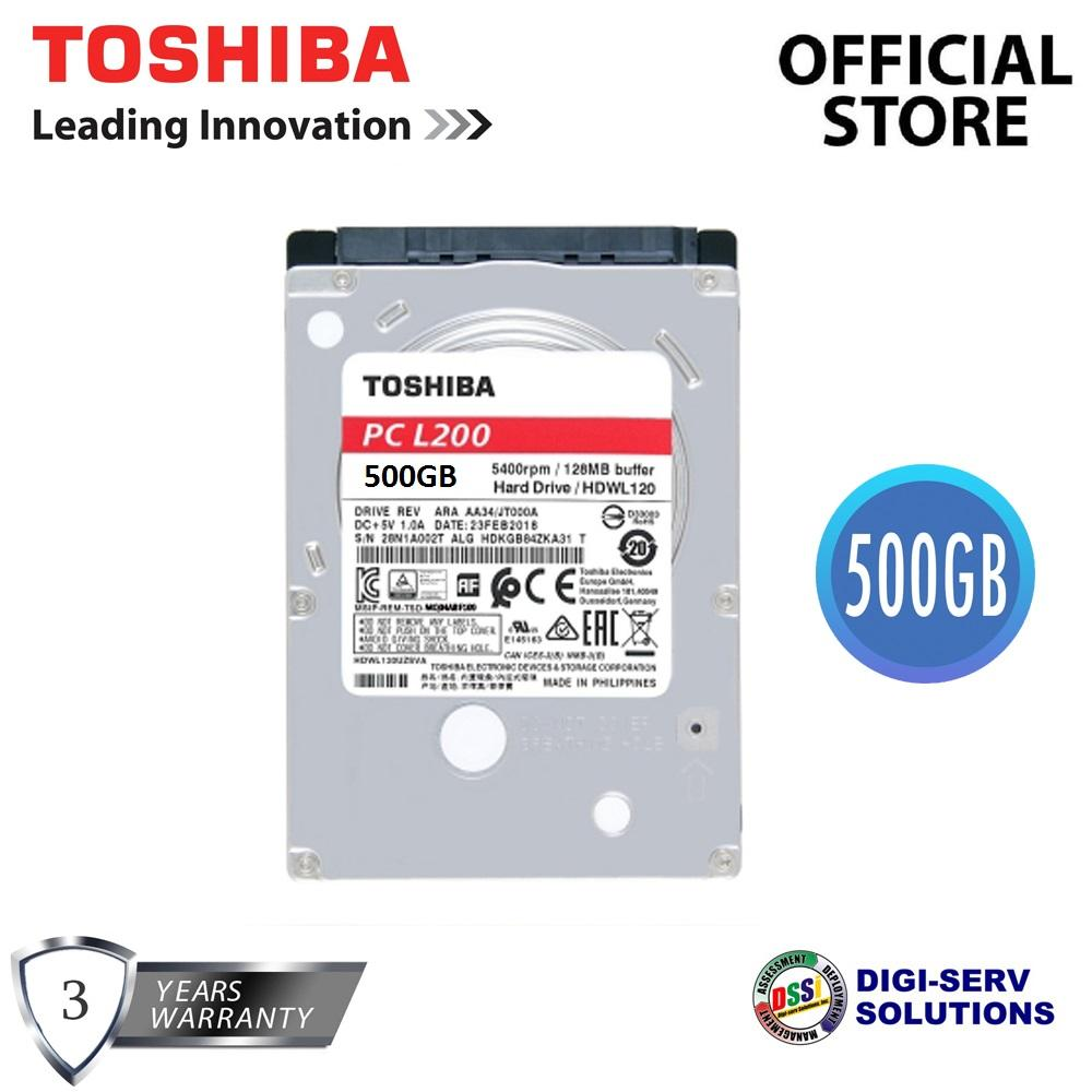 Toshiba Hdd Philippines Hard Disk Drives For Sale Prices Hardisk 25 80gb Mq01abf050m 500gb Sata 6gb S 8mb Cache Inch Laptop