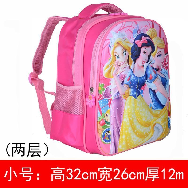 3D Young Student s women Snowhite Princess 1-3-5 Grade Schoolbag Children  Kindergarten Preschool 96fb902d2b