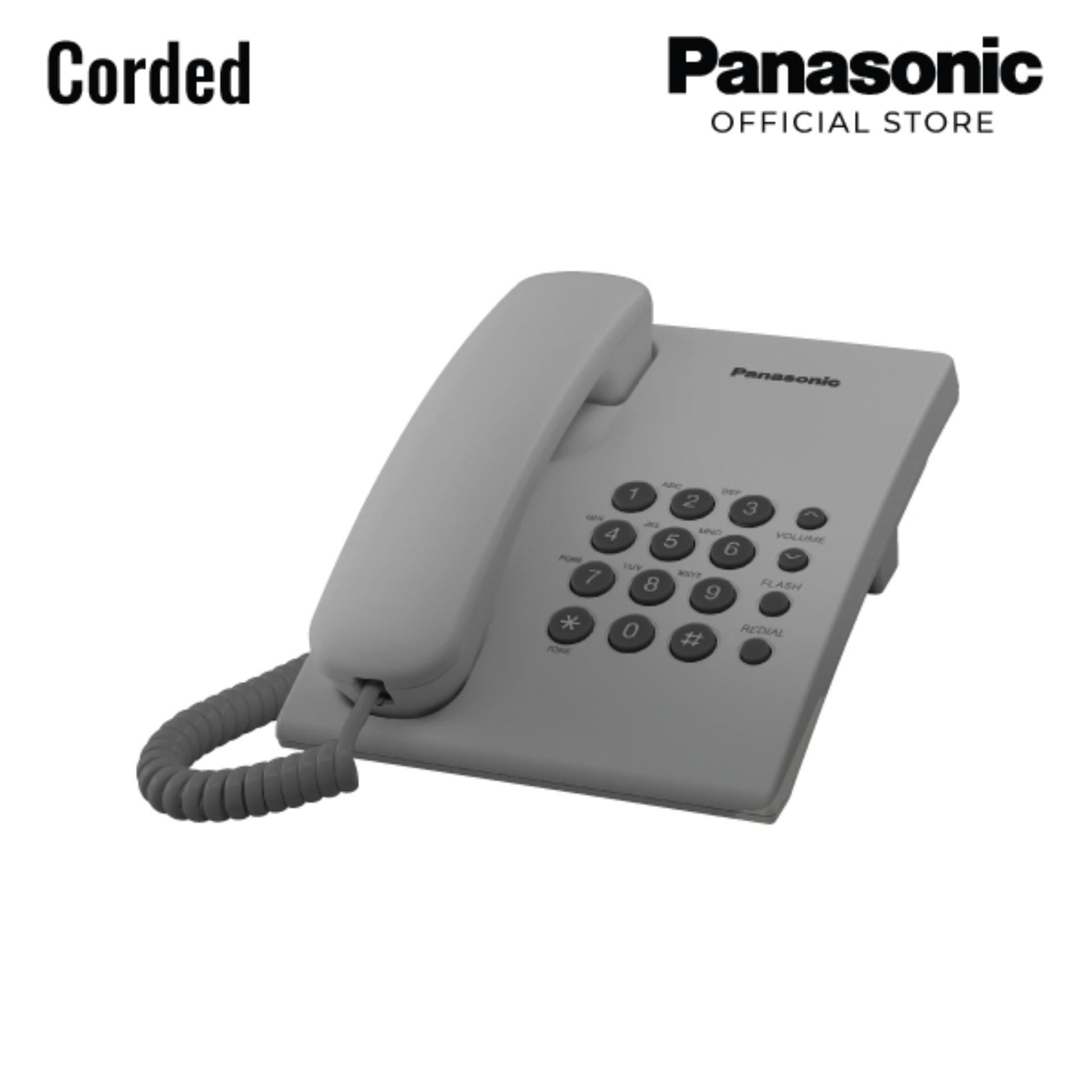 Telephone For Sale Landline Phone Prices Brands Specs In Classical Hybrid Circuit Panasonic Corded Kx Ts500mx Grey