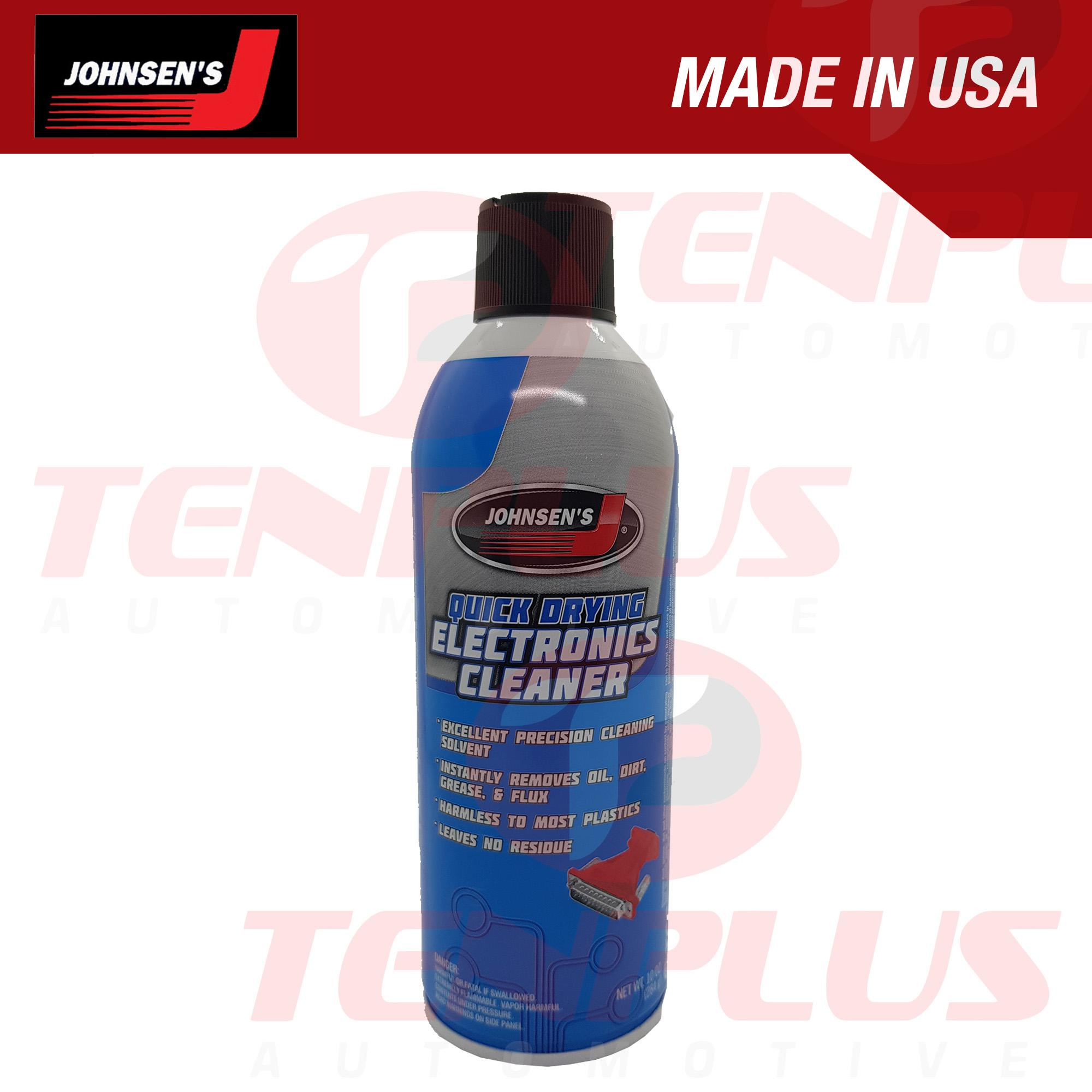 Johnsens Quick Dry Electronics Cleaner 10oz. By Tenplus Auto Supply.
