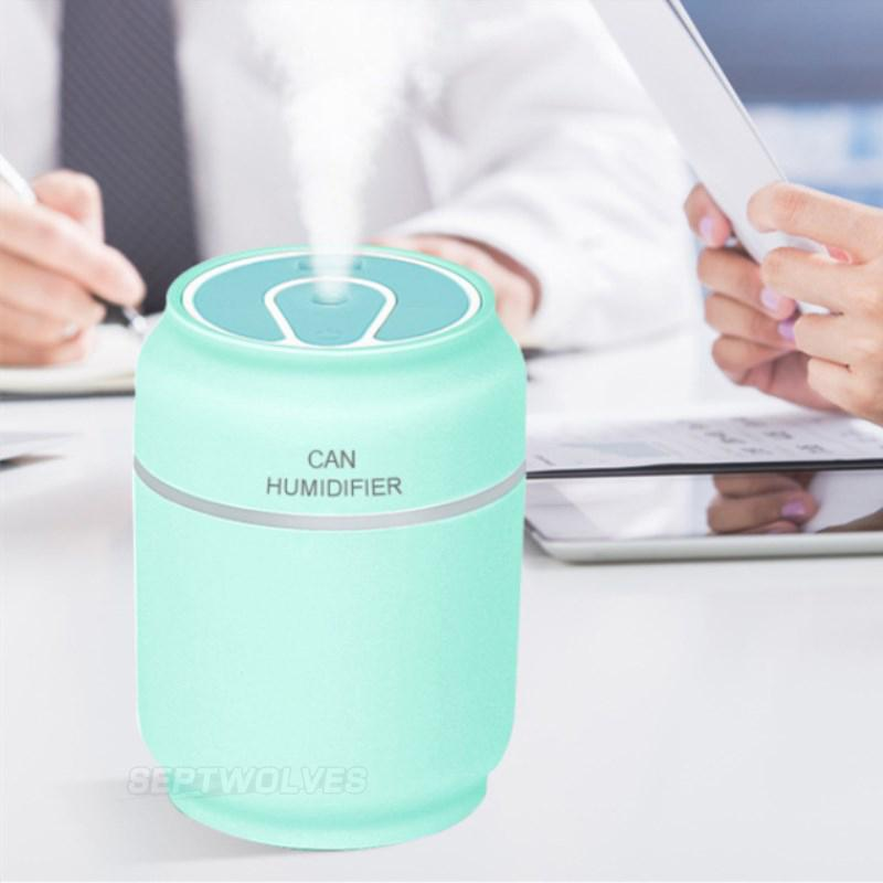 Blue Water Bw290 3 In 1 Mini Air Humidifier(blue)with Mini Usb Fan Night Light By Septwolves General Merchandise.