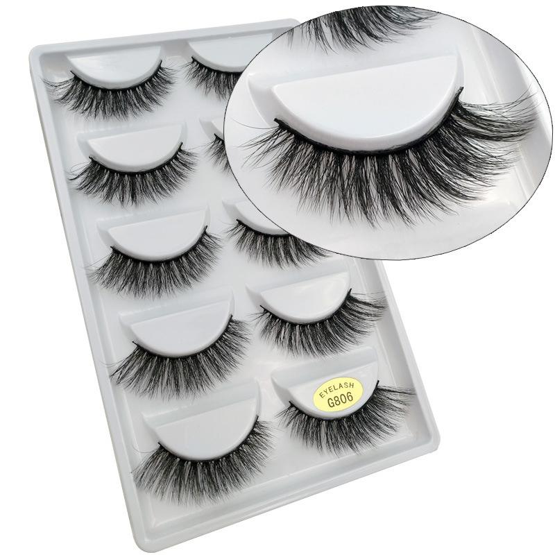 O-New 5 Pair 3D False Eyelashes Philippines