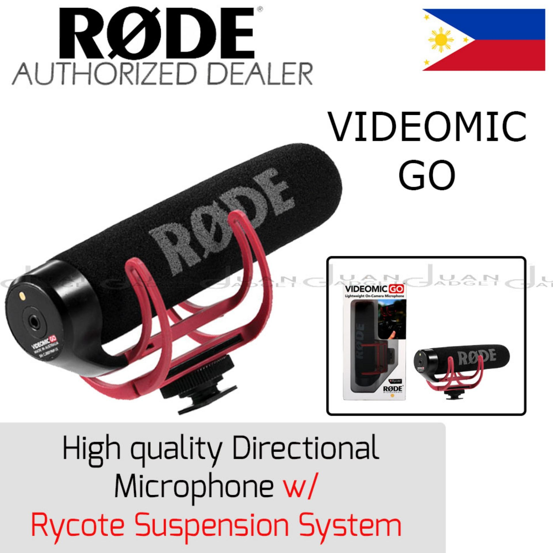 Rode Philippines Price List Microphone For Sale Lazada Videomic Me Go Lightweight On Camera