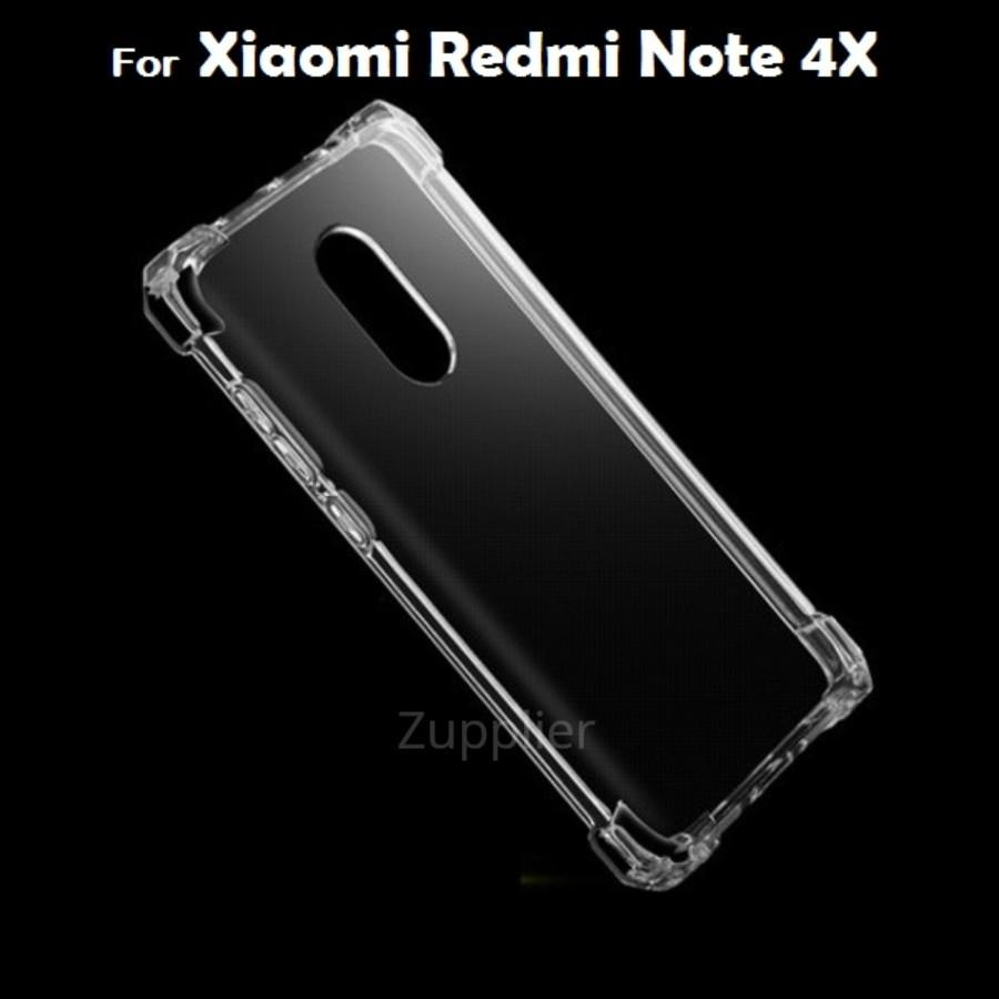 Xiaomi Redmi Note 4X Case Premium Shockproof Silicone Clear Soft TPU