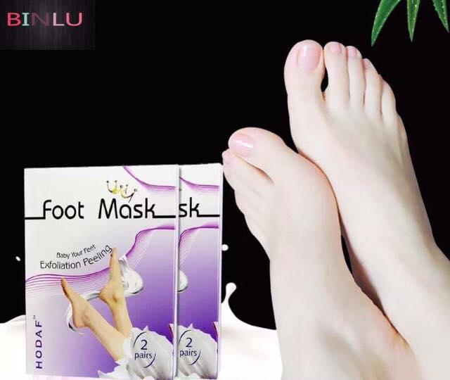 Philippines. Foot Mask Baby Your Feet Exfoilation Peeling 2 Pairs BINLU a736673e99e9