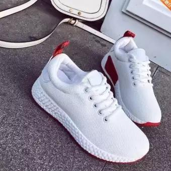 fbef4aff362 QQS2018 summer new Korean version of the low shoes youth solid color shoes