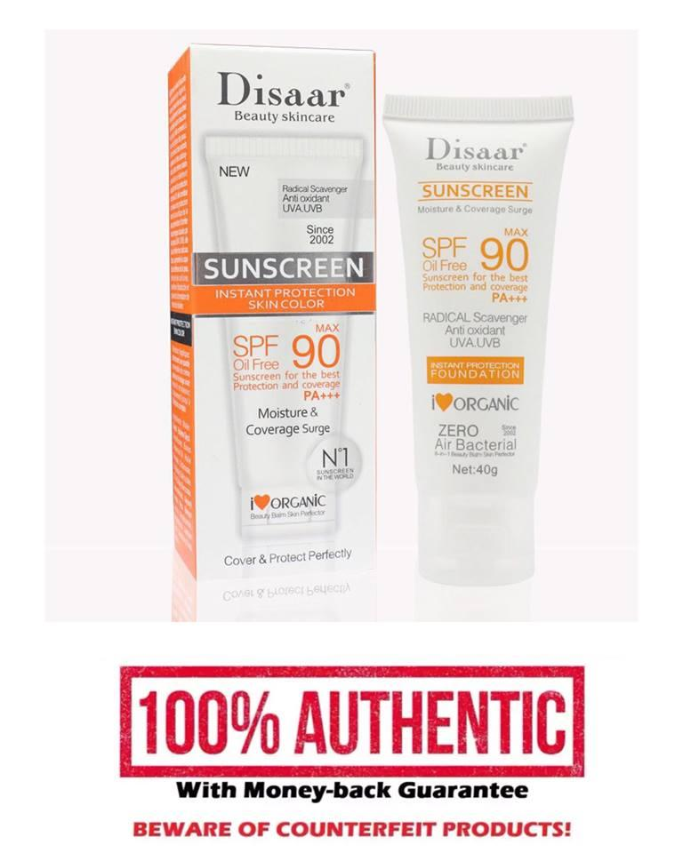 Facial Sunblock Sunscreen Cream SPF Max 90 Philippines