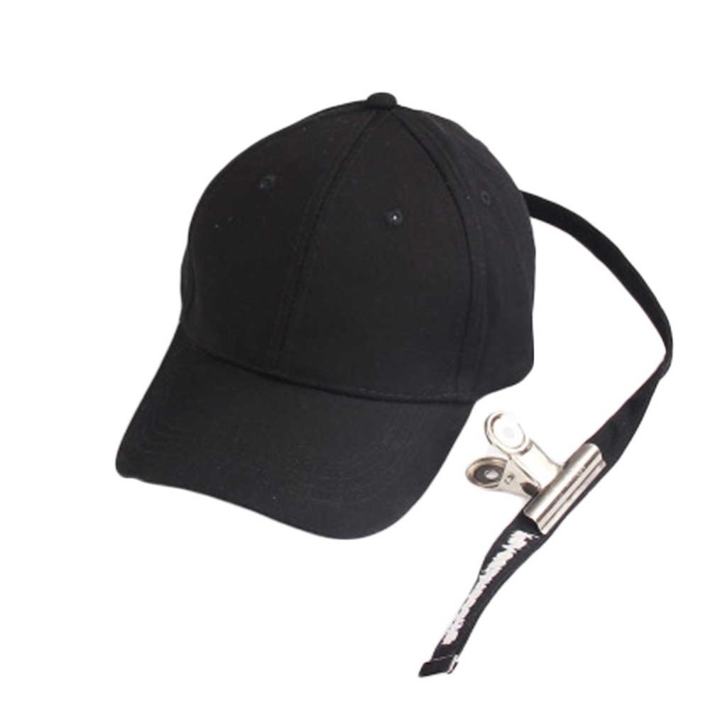 cf888bcdadfdf Specifications of GD Same Style Baseball Cap Hat Peaceminusone Fashion  Adjustable Hip Hop Cotton With Clip(Black) - intl