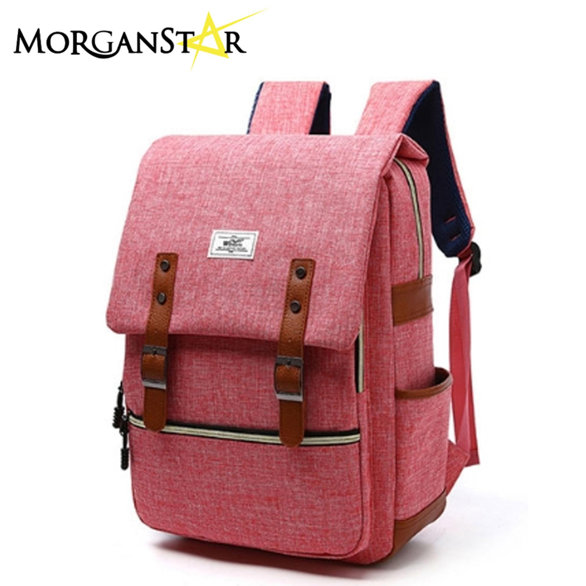 Wowang Unisex Leisure Lightweight Travel Laptop Backpack Men Oxford Cloth Business Backpack (red) By Morganstar Marketing.