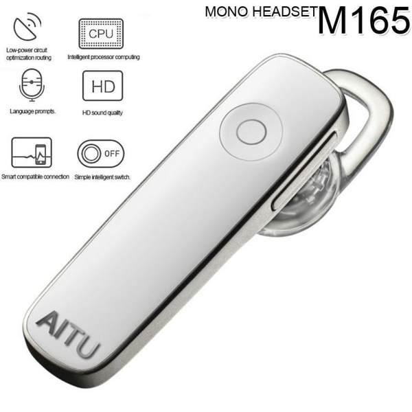 AITU G1 Wireless Bluetooth Headset Headset BT V4.0 Stereo Handsfree With Microphone M165