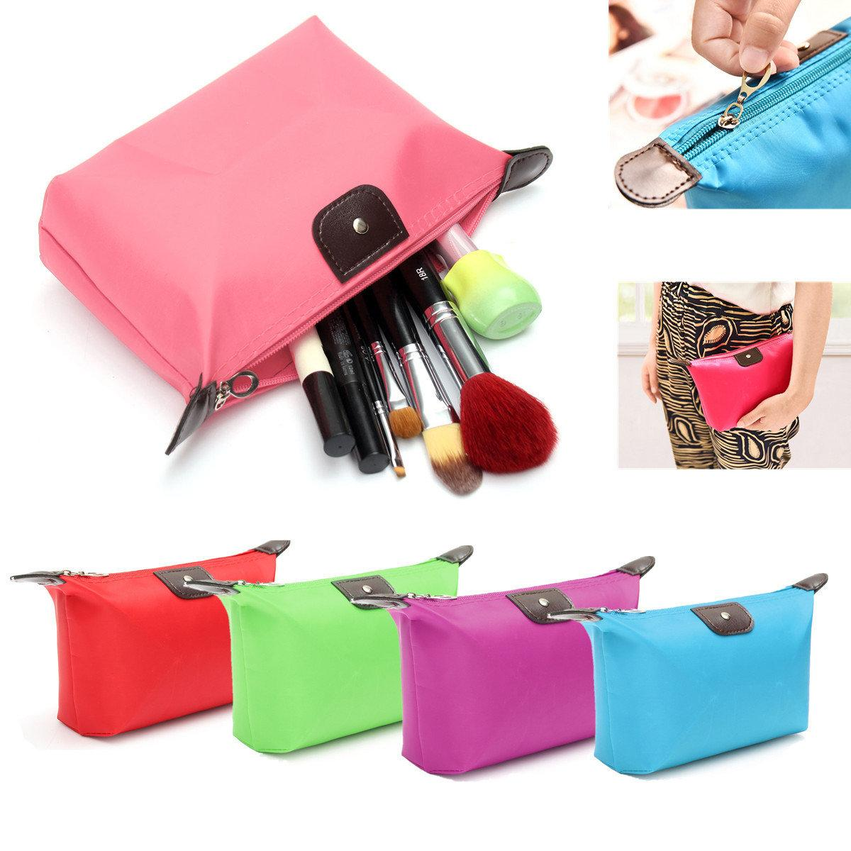 5PCS Travel Make Up Waterproof Pouch Purse Organizer Cosmetic Bag (Assorted Color) Philippines