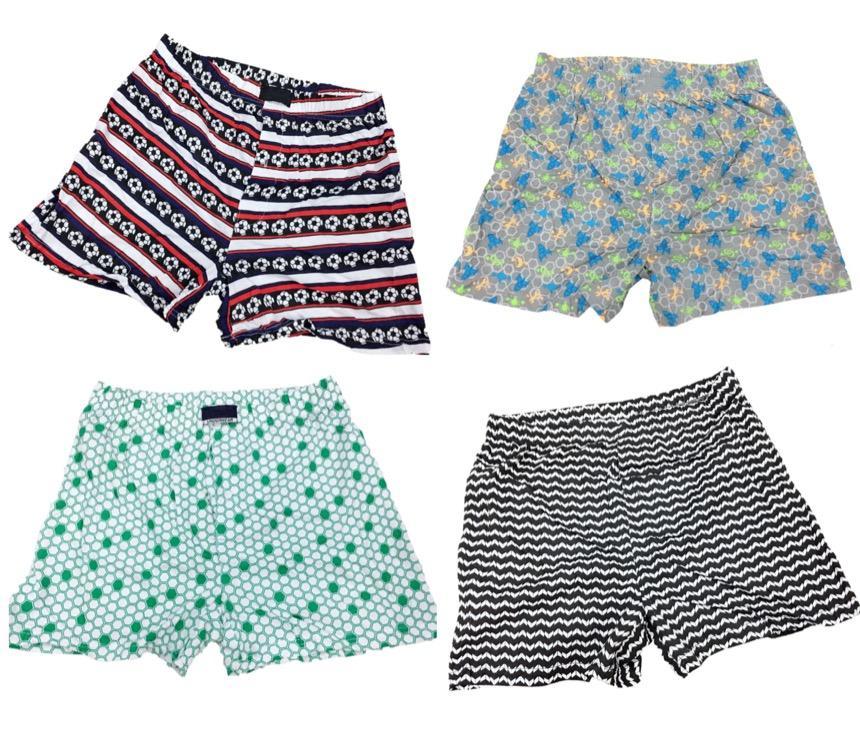 12 Pcs Super Soft Cotton Boxer Short For Men By Fe Promall.