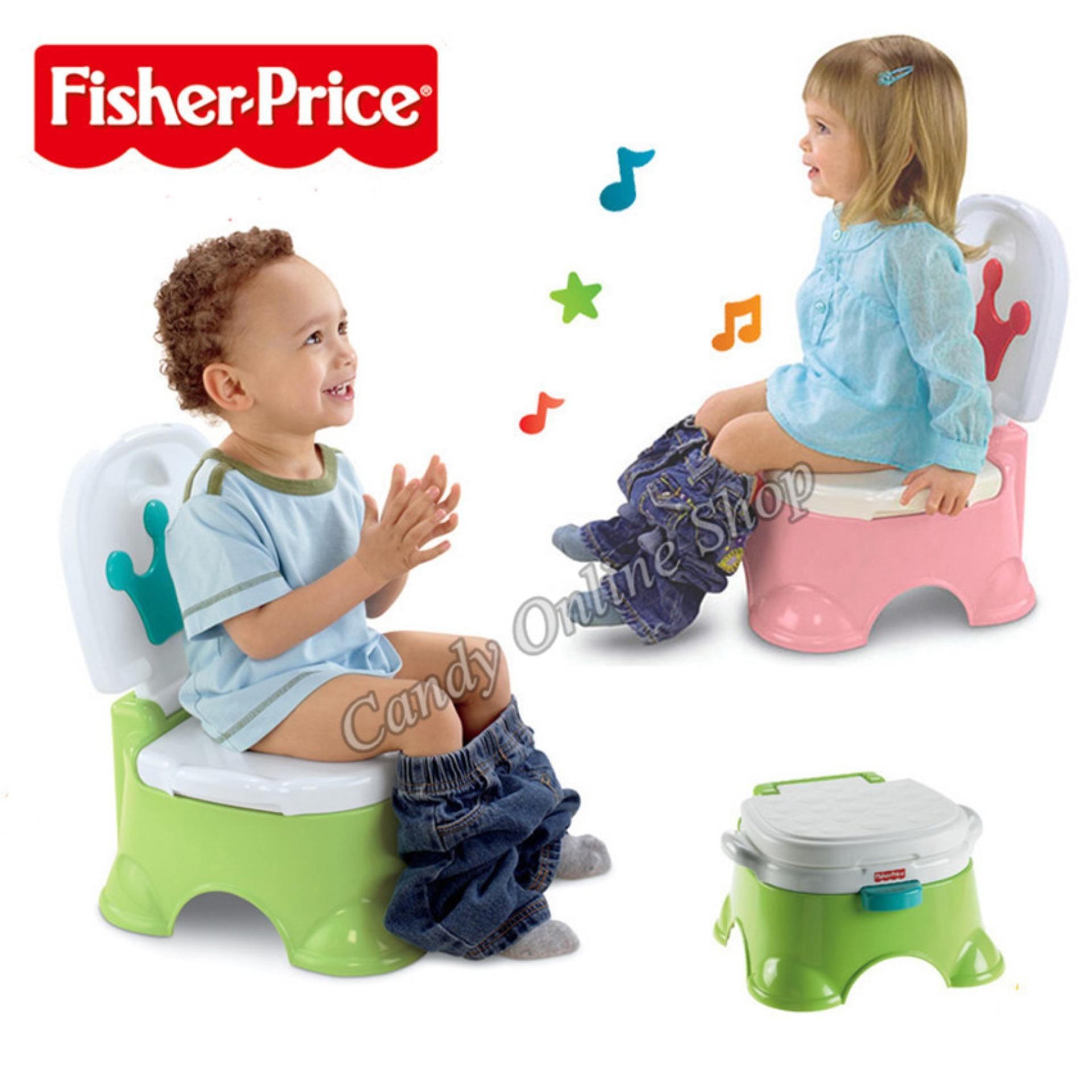 Candy Online Fisher-Price Childrens Potty With Music (pink) By Candy Online Shop.