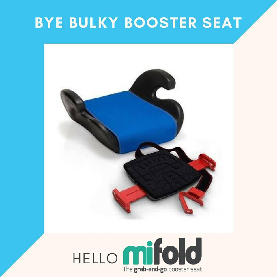 Mifold Compact Toddler Car Booster Seat