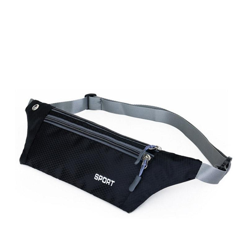 ca20c6f6c870 Sport Music Fanny Pack Travel Waterproof Waist Bag Hip Purse Belt