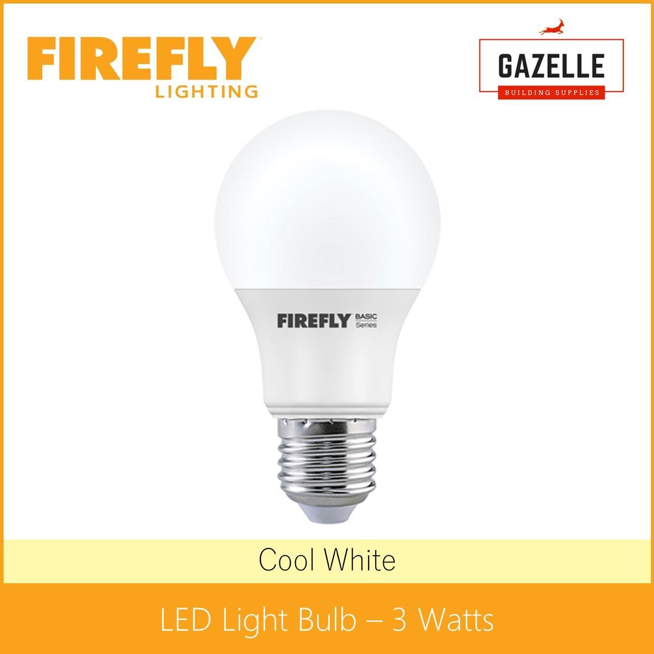 Firefly Philippines Price List Led Bulbs Fluorescent Light Bulb Diagram Pressure Lamp Basic Cool White 3 Watts