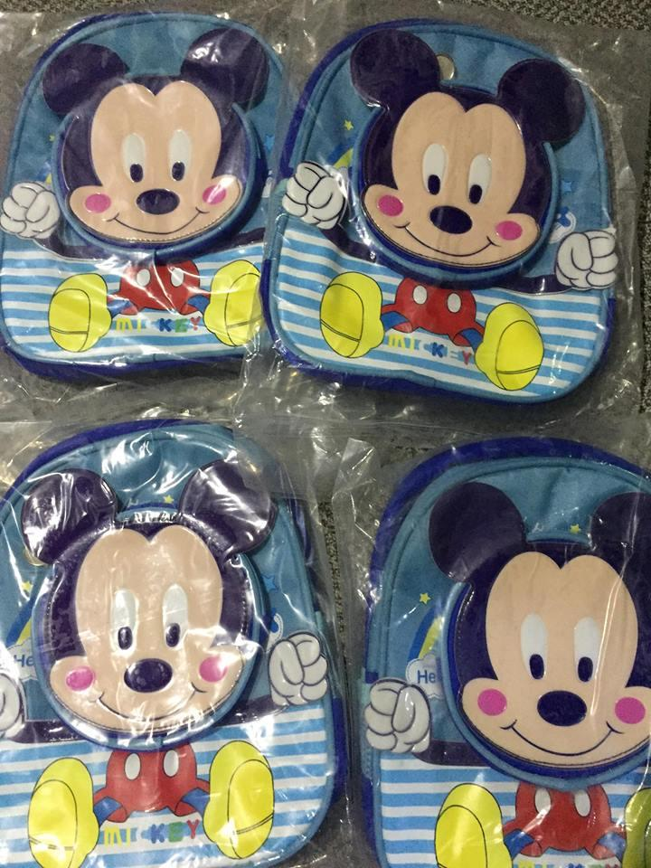 Cute Mickey Backpack For Kids From Bag Factory By Caveman Production.
