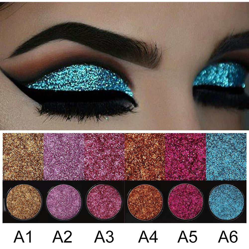 HANDAIYAN Diamond Golden Glitter Eye Shadow Make Up Palette # A - intl Philippines