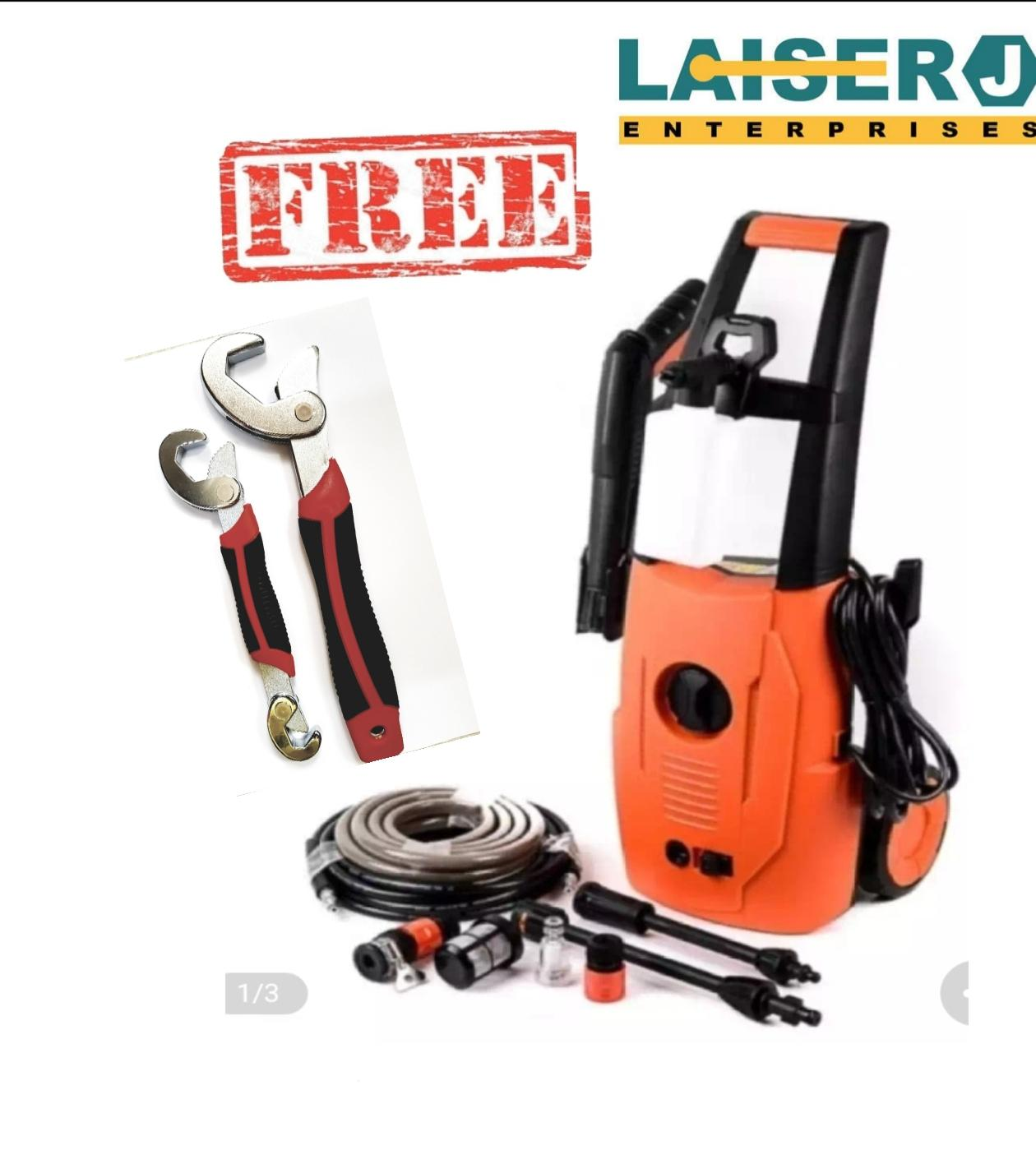 Kawasaki HPW-302 Portable Power Sprayer Pressure Washer With Free Snap n Grip (Orange) Philippines