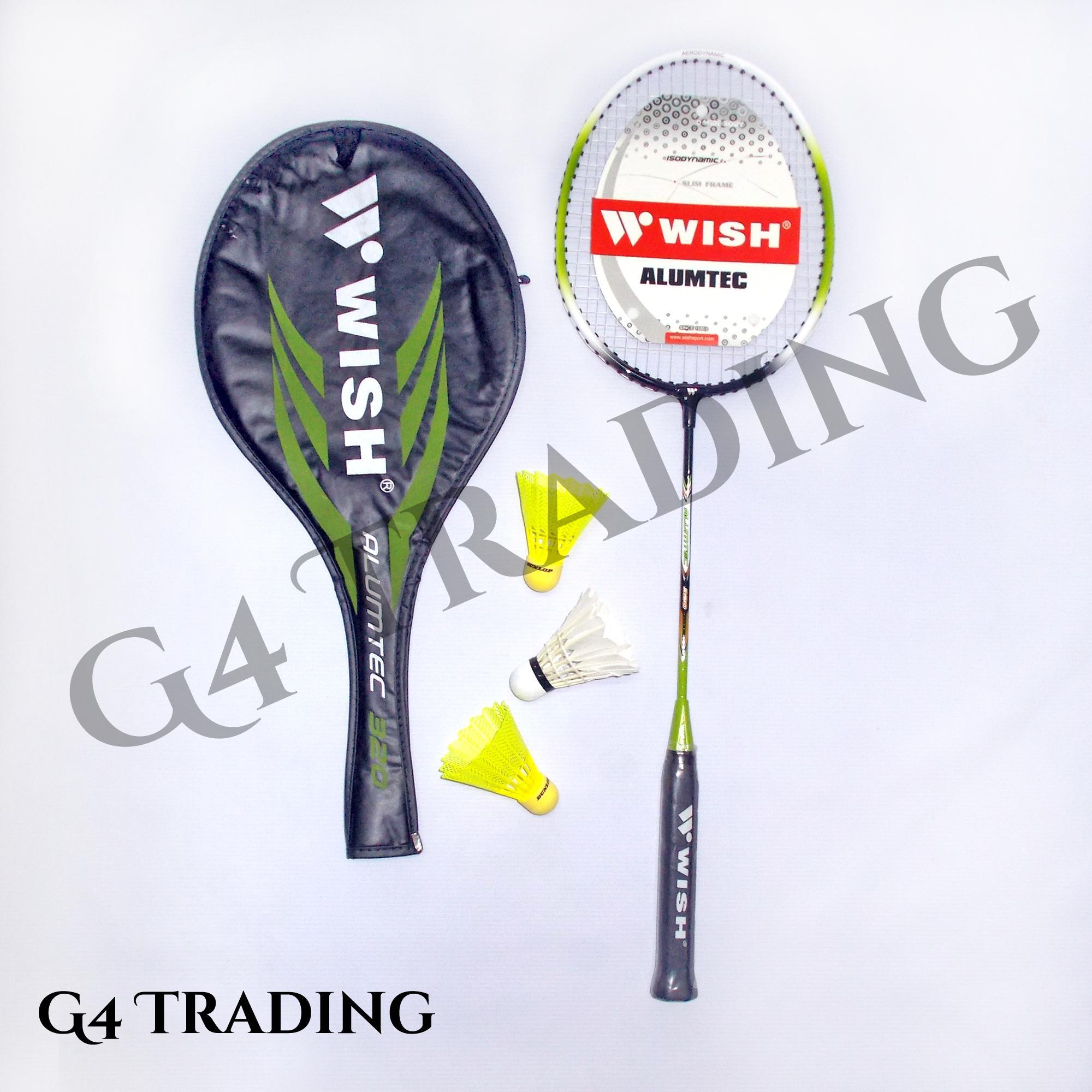 WISH ALUMTEC 320 - SINGLE Badminton Racket