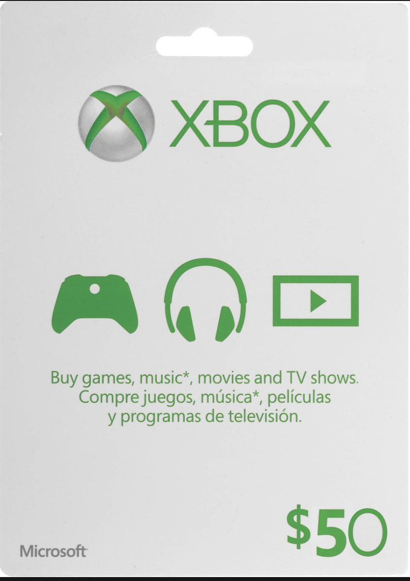 USD 50 XBOX Live (USA) Gift Card - Fast Email Delivery