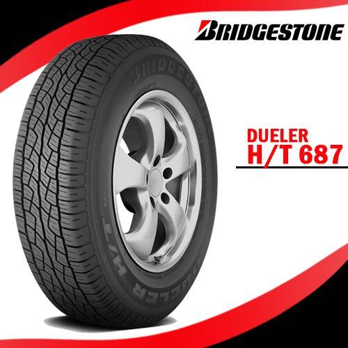 BRIDGESTONE 235/60 R16 100H Dueler H/T 687 Quality SUV Radial Tire