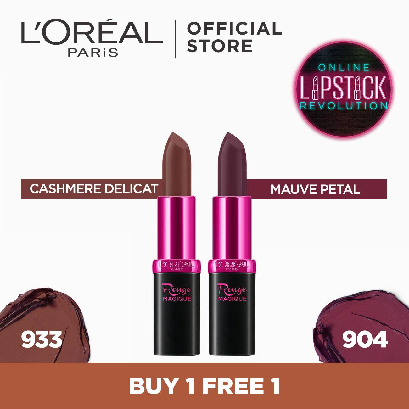 Buy 1 Free 1: Color Riche Matte Lipsticks by LOreal Paris Philippines